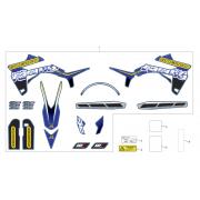 Kit déco SHERCO 250/300 2012/2015