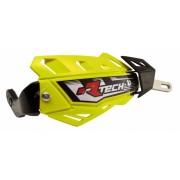Protège-mains RACE TECH FLX intégral Jaune fluo